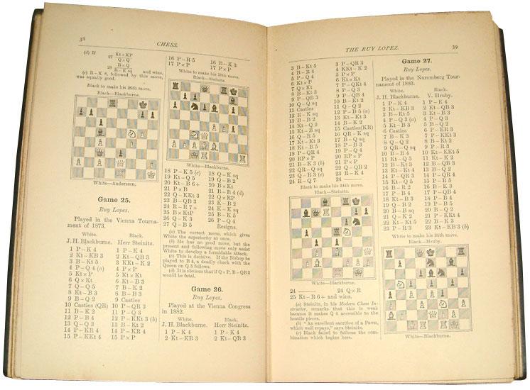 Blackburne-Games-Chess-Rare-Books