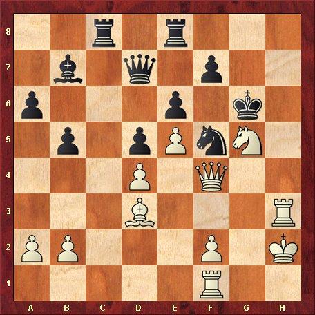 Diagrama 10-albul muta si da mat in 4 mutari