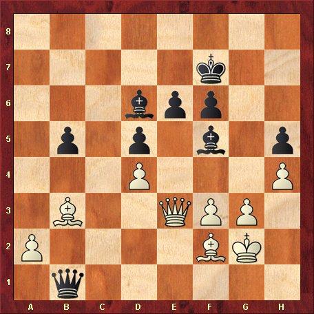 Diagrama 12-negrul muta si da mat in 5 mutari