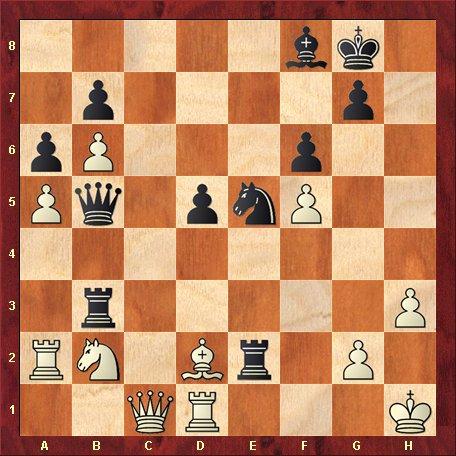 Diagrama 6- negrul muta si da mat in 6 mutari
