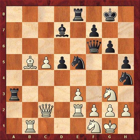 Diagrama 8 - negrul muta si da mat in 5 mutari