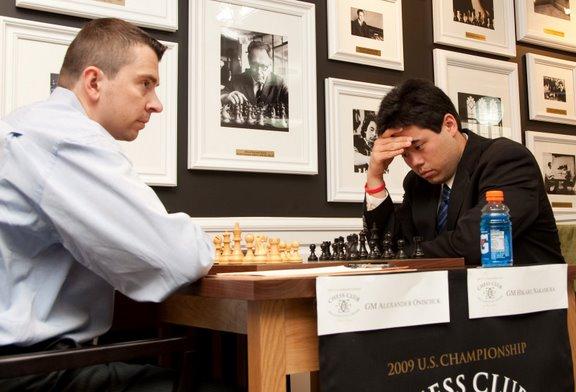 Onischuk vs Nakamura Round 6 2009 US Champs-28