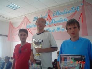 Tamas Balla loc1, Adrian Petrisor, ambii cu 7,5p. Pe locul 3Tincu Radu,
