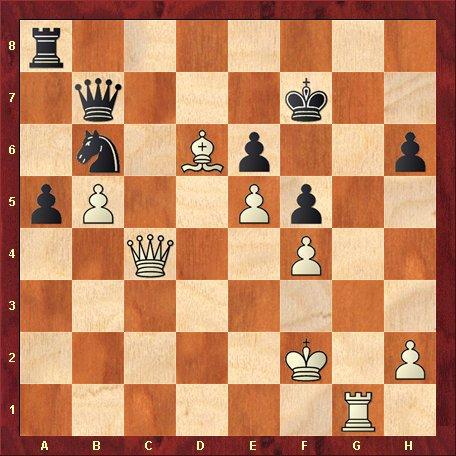 Diagrama 6 - albul muta si da mat in 5 mutari