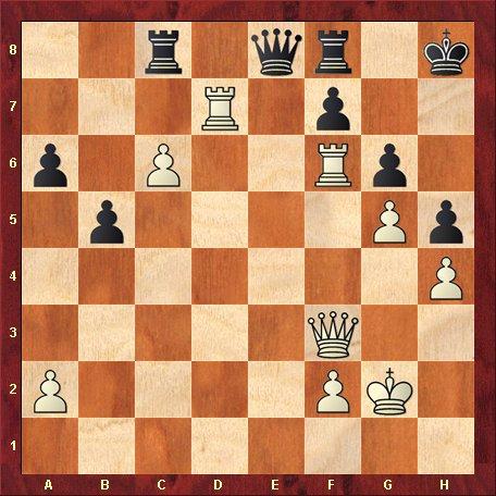 Diagrama 7 - albul muta si da mat in 6 mutari