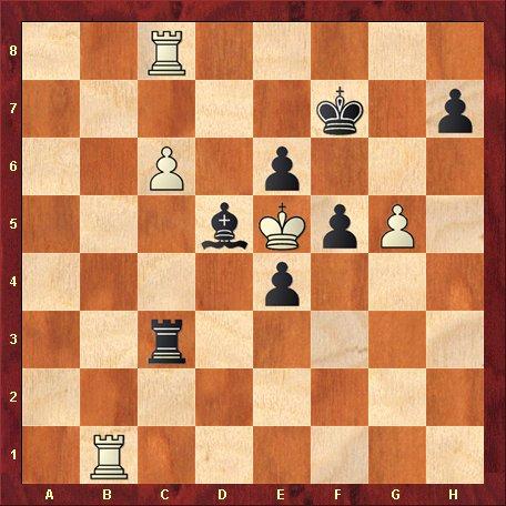 Diagrama 8 - albul muta si da mat in 5 mutari