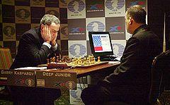 Kasparov-computer Deep Junior