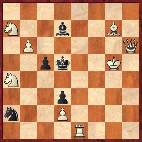 albul muta si da mat în 2 mutari-P1