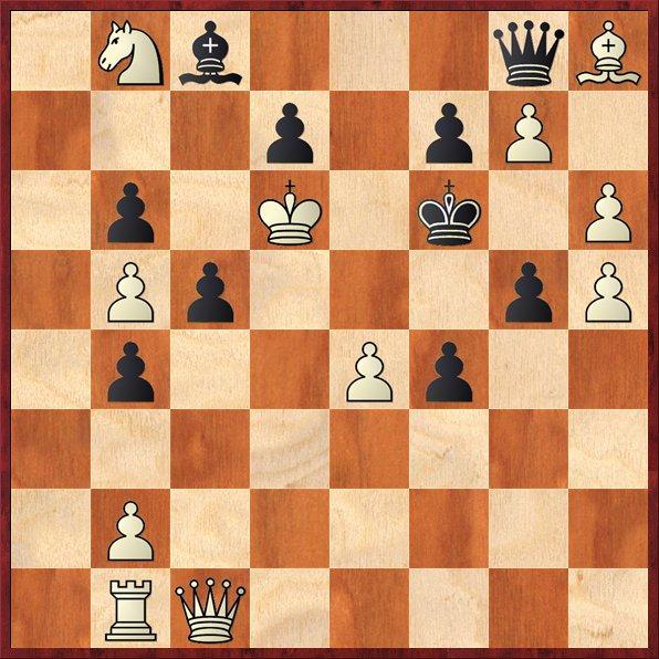 albul muta si da mat în 2 mutari-P3