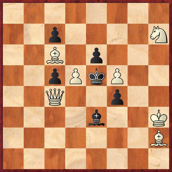 albul muta si da mat în 2 mutari-P4