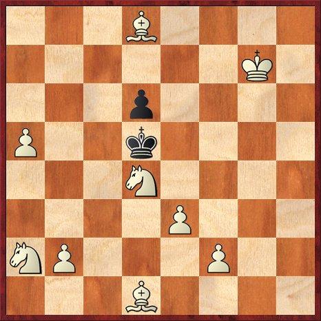 albul muta si da mat în 3 mutari-P26
