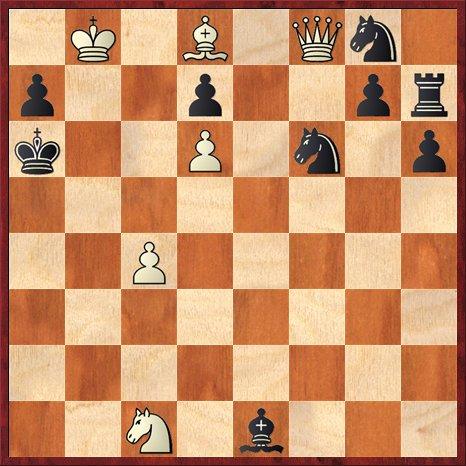 albul muta si da mat în 3 mutari-P27