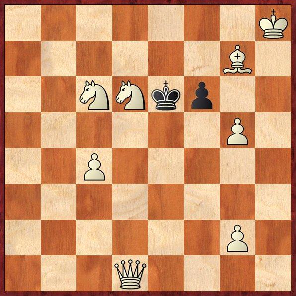 albul muta si da mat în 3 mutari-P28