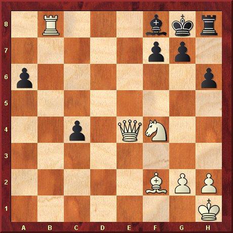 albul muta si da mat in 4 mutari-problema 29
