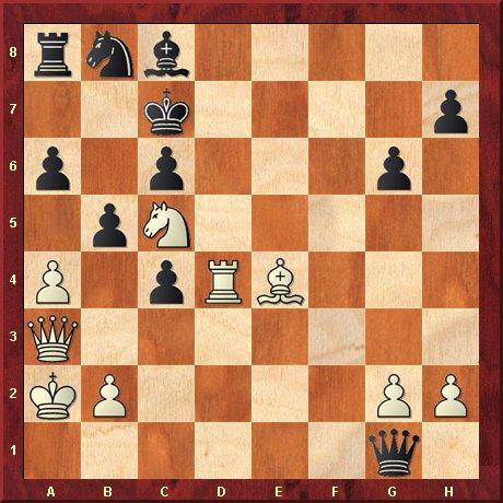 albul muta si da mat in 5 mutari-diagrama 17 A.Samuda, Esq