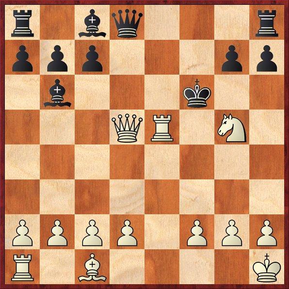 albul muta si da mat în 6 mutari-D42 W.Lewis