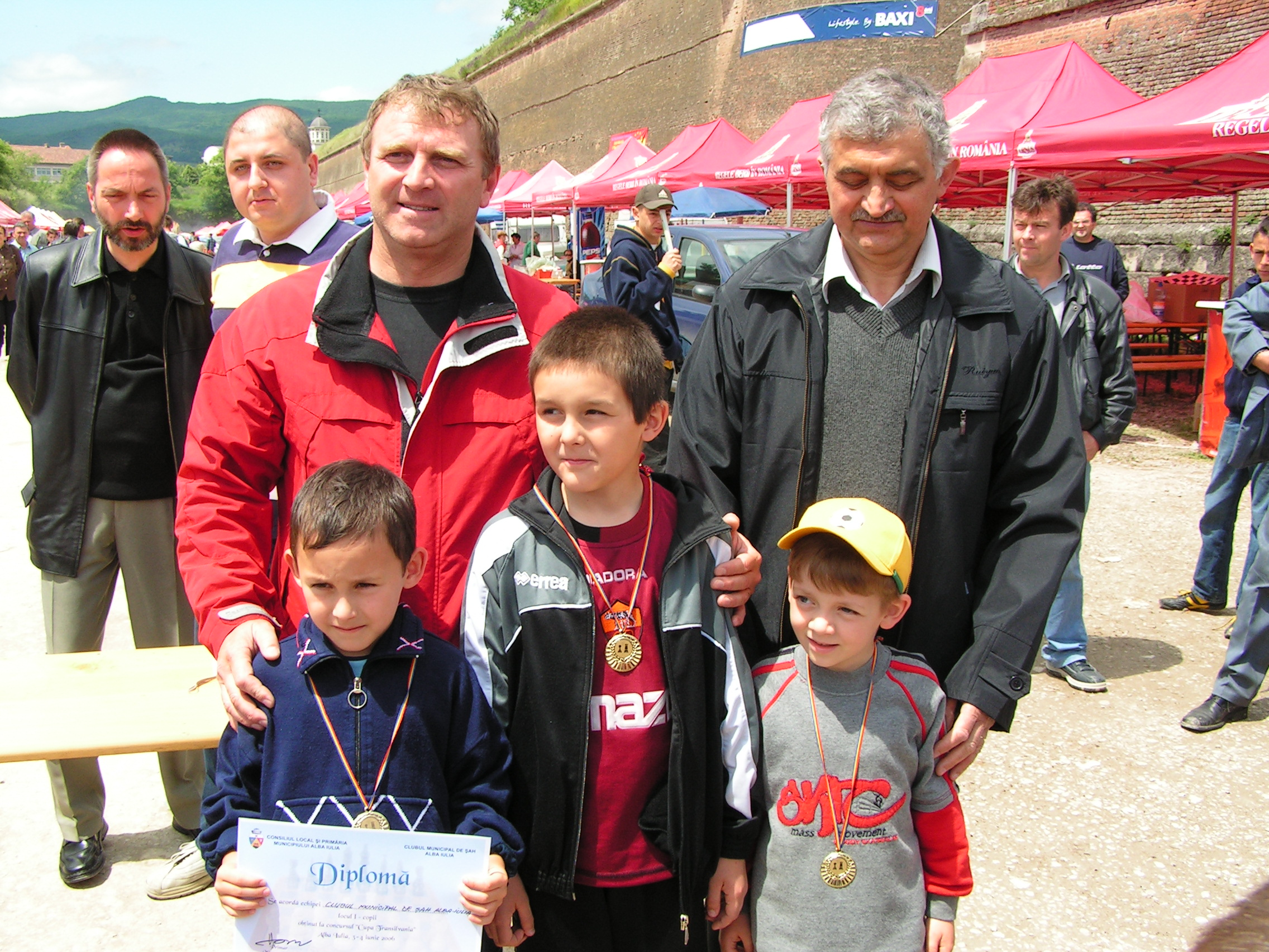 Cupa Transilvania 2006 - CMS Alba Iulia - copii locul 1