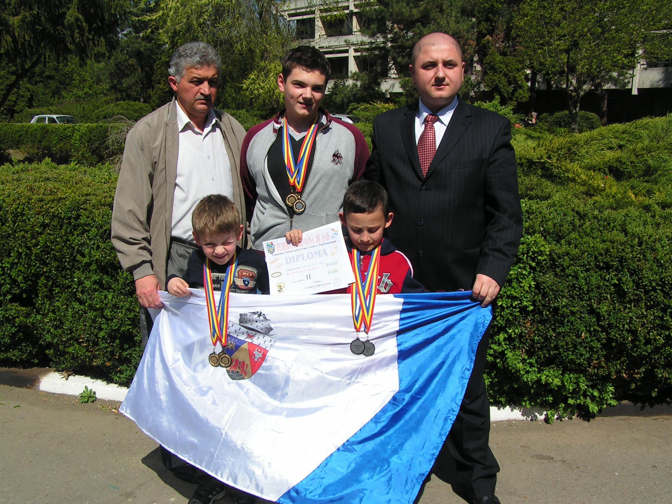Medaliati  CN de juniori  Amara 2007