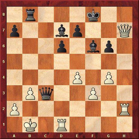 negrul muta si da mat in 5 mutari-problema 31