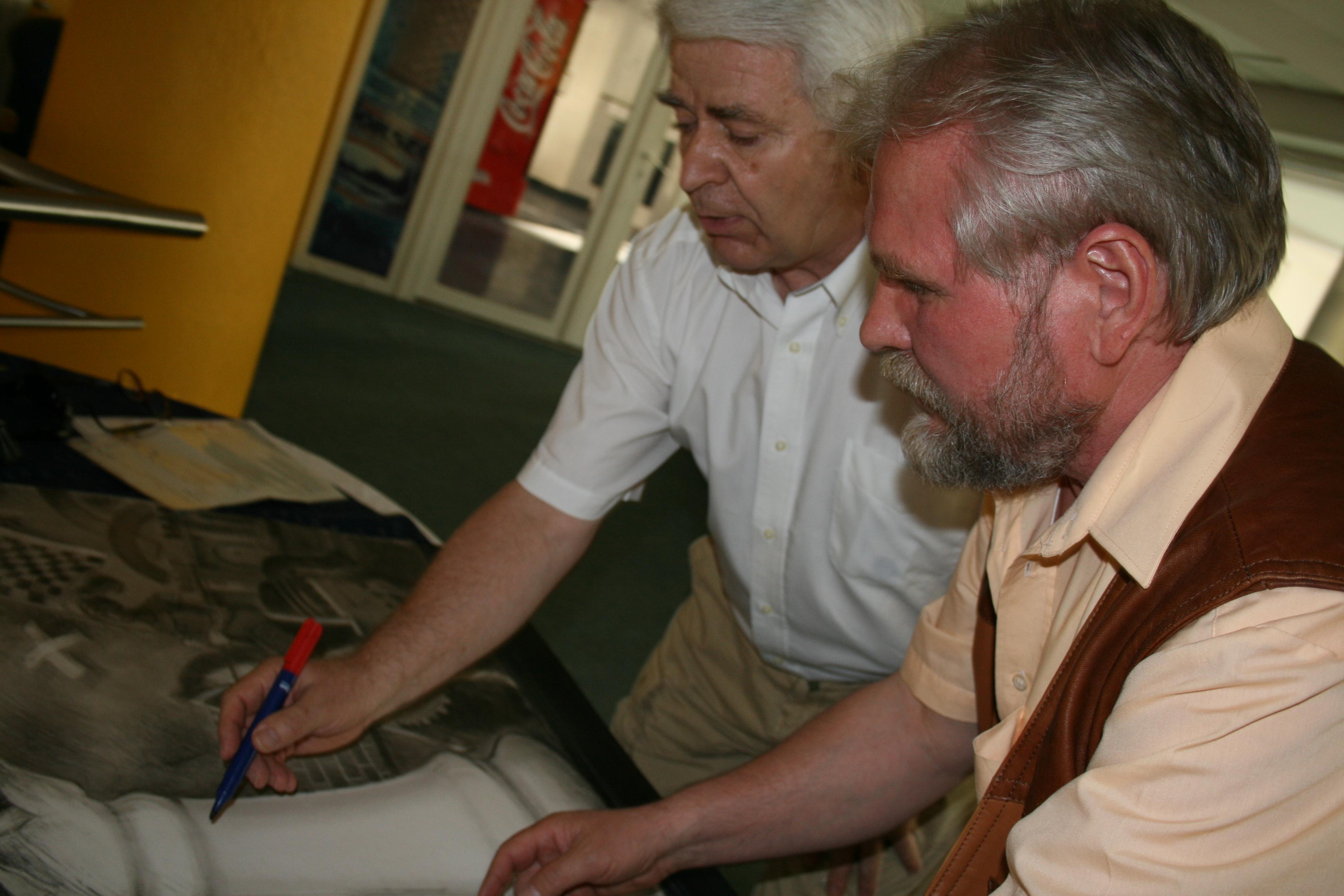 Cu Boris Spassky, 2008