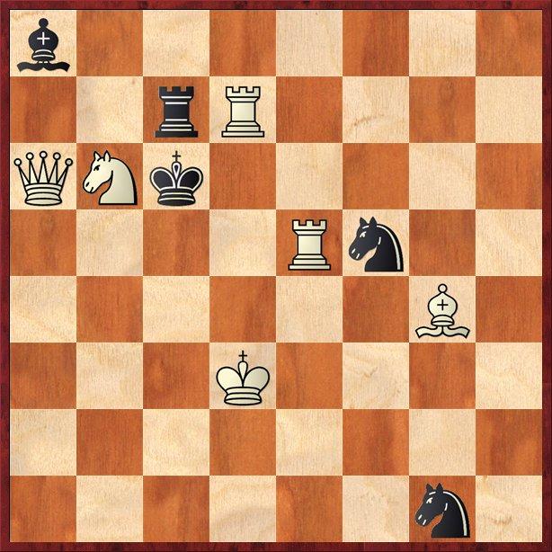 albul mută şi dă mat în 2 mutări-Pos18