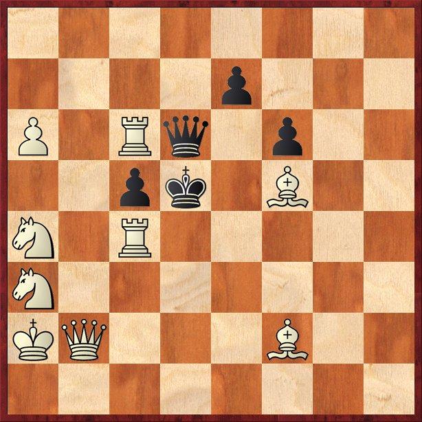 albul mută şi dă mat în 2 mutări-Pos19