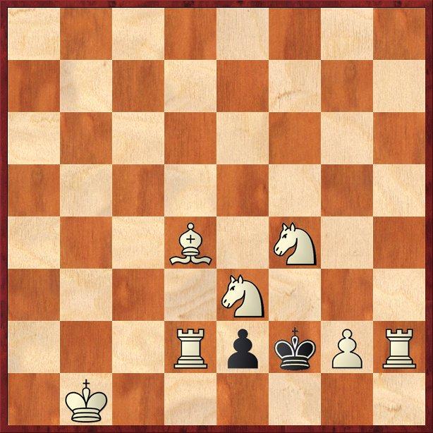 albul mută şi dă mat în 2 mutări-Pos20