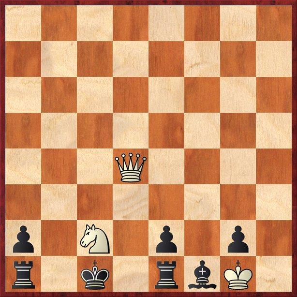 albul mută şi dă mat în 2 mutări-Pos4