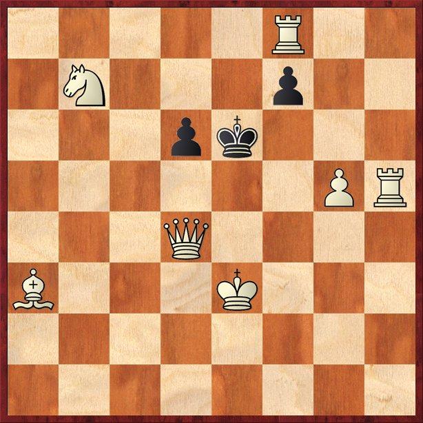 albul mută şi dă mat în 2 mutări-Pos9