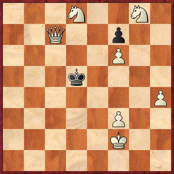 albul muta si da mat in 3 mutari-problema58