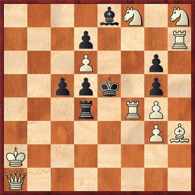 albul mută şi dă mat în 4 mutări-problema 69