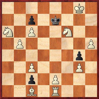 albul mută şi dă mat în 4 mutări-problema 70
