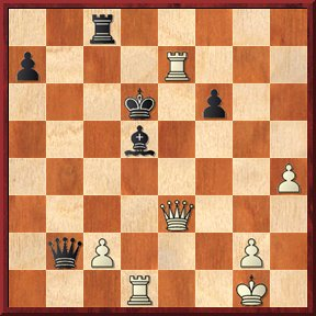 albul mută şi dă mat în 7 mutări-problema nr.123
