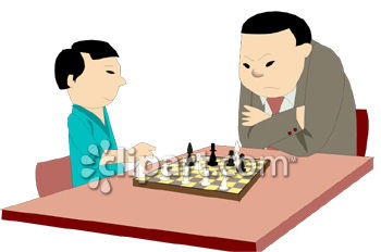 children_father_animat_chess
