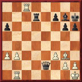 negrul mută şi dă mat în 3 mutări-problema nr.120