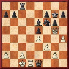 negrul mută şi dă mat în 3 mutări-problema nr.126