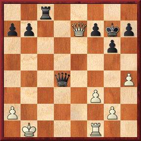 negrul mută şi dă mat în 5 mutări-problema nr.125