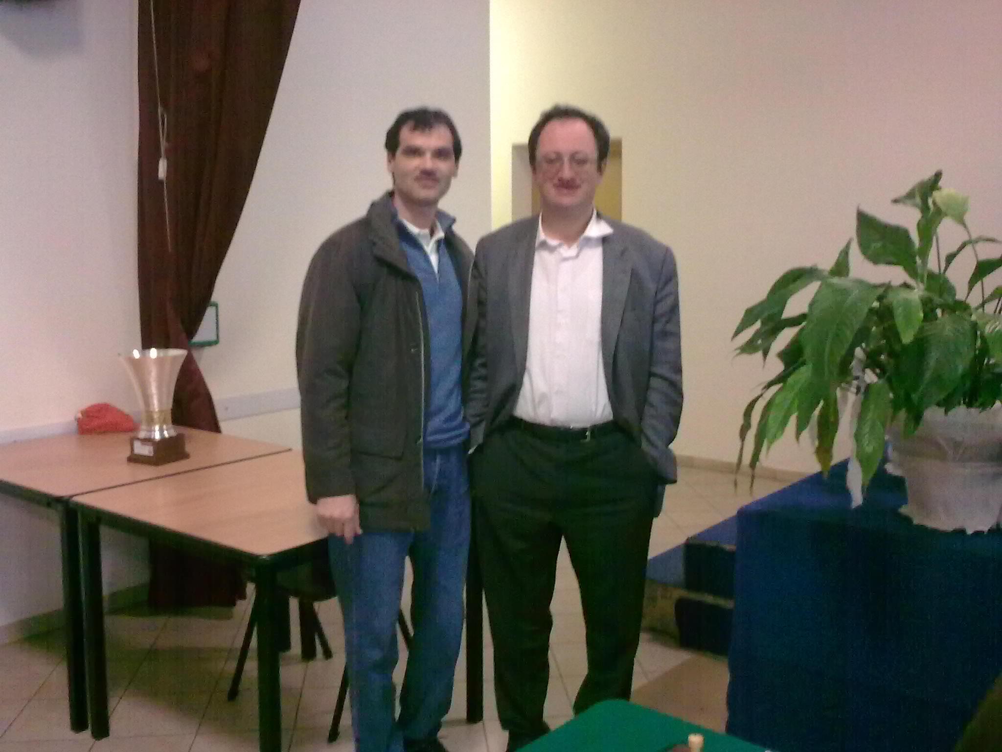 O poza de valoare pt. mine! Alaturi de GM Boris Gelfand, extraordinar de amabil! A facut foto si semnat autografe cu multa amabilitate