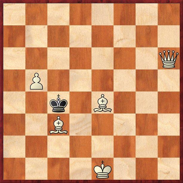 albul mută şi dă mat în 2 mutări-Pos38