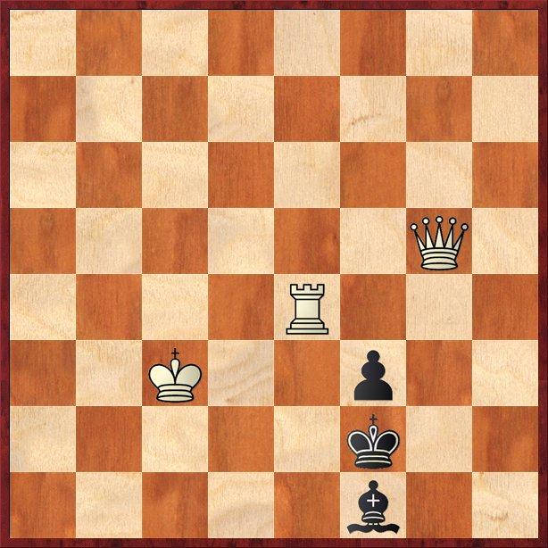 albul mută şi dă mat în 2 mutări-Pos39
