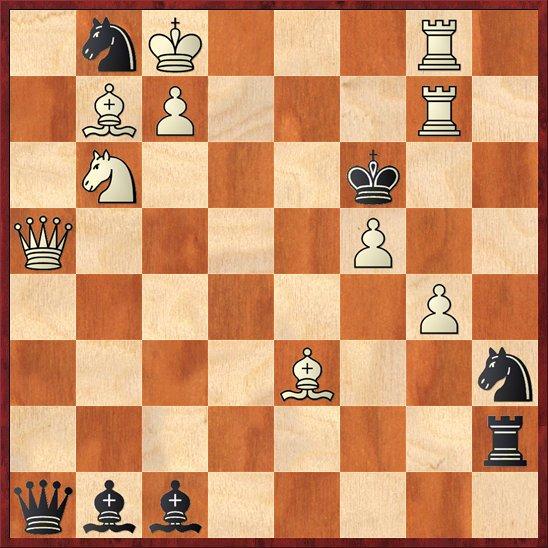 albul muta si da mat in 2 mutari-Pos54
