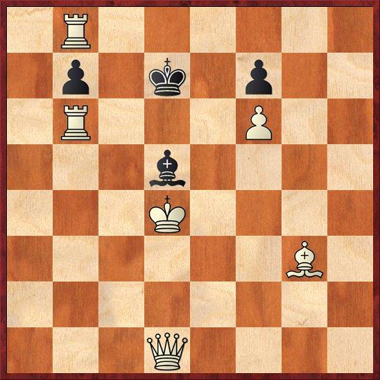 albul muta si da mat in 2 mutari-Pos61