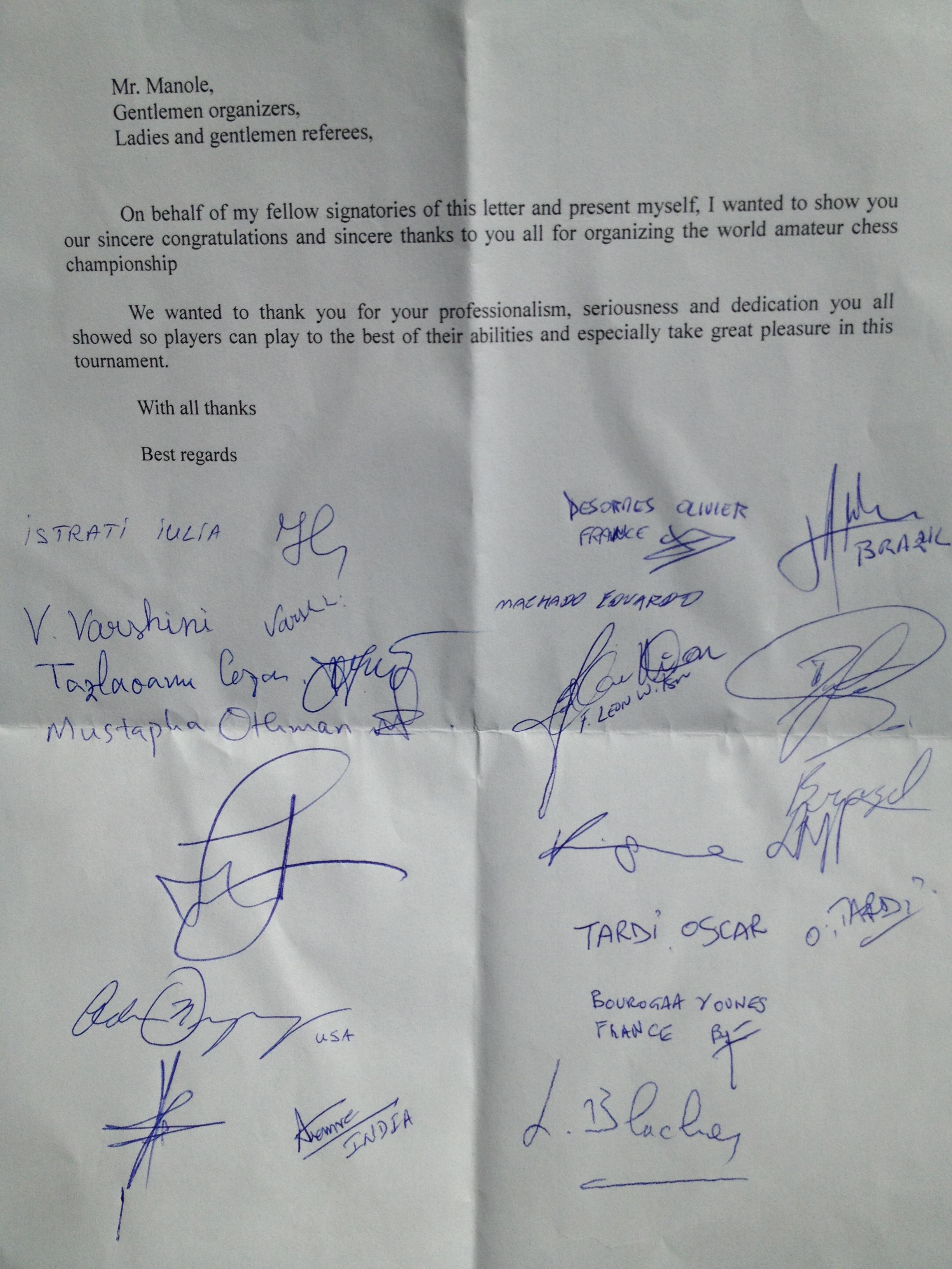 Scrisoare multumire CM Iasi