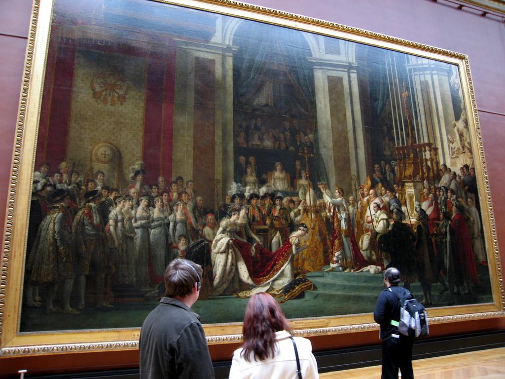 Jacques-Louis David - The Coronation of Napoleon (1806-1807)